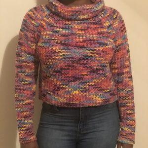 Multi Turtle Neck Sweater